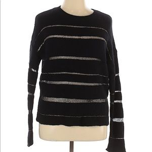 Rails Soft Cashmere Silver Threaded Sweater